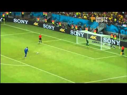 Costa Rica vs Grecia 1 1 5 3 Resumen, Goles y Penales Mundial Brasil 2014 - Directcv sports