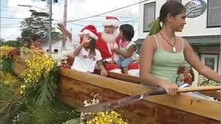 Pahoa puts on Christmas parade like no other
