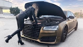 Audi S8 666HP on Turismo Wheels - Can't stop watching this!