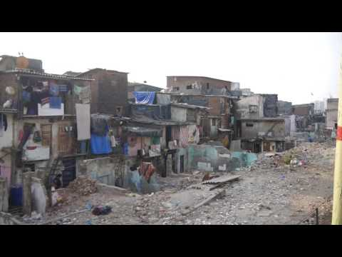 Mumbai, view from the train, slum & wast & trash Mp3