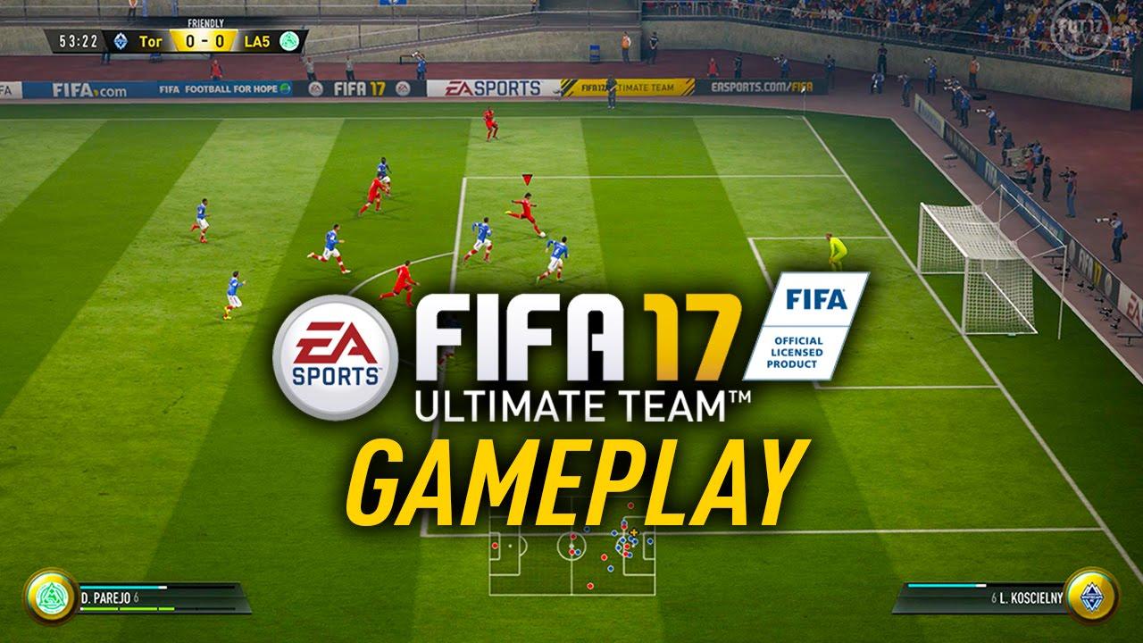 fifa 17 ultimate team gameplay youtube. Black Bedroom Furniture Sets. Home Design Ideas