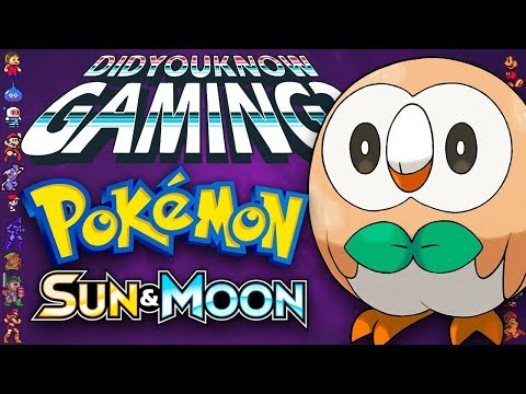 Pokemon Sun & Moon - Did You Know Gaming? Feat. Remix of WeeklyTubeShow