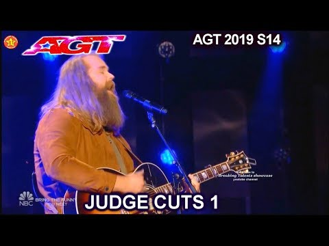 Chris Kläfford  original song 'Something Like Me' AWESOME | America's Got Talent 2019 Judge Cuts
