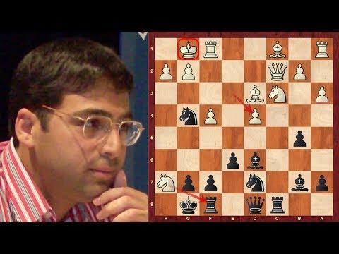 Amazing Game Brilliancy! Levon Aronian vs Vishy Anand ...
