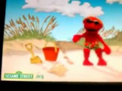 elmo got the moves