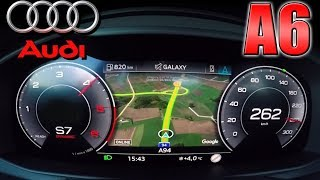 0-250km/h   Audi A6 50 TDI   Acceleration and Top speed TEST ✔