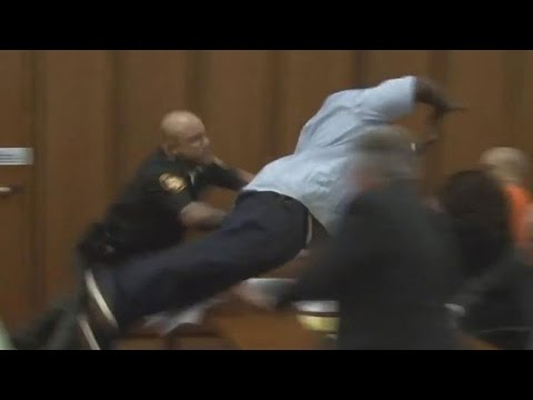Father Attacks Man Convicted Of Killing...