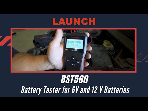 LAUNCH Battery Tester BST560 - For cars