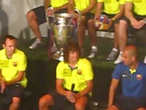 Puyol and Marquez interview