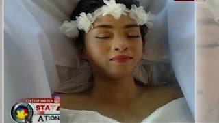 """Dalagang nasawi dahil sa cancer, mala-""""Die Beautiful"""" ang burol"""