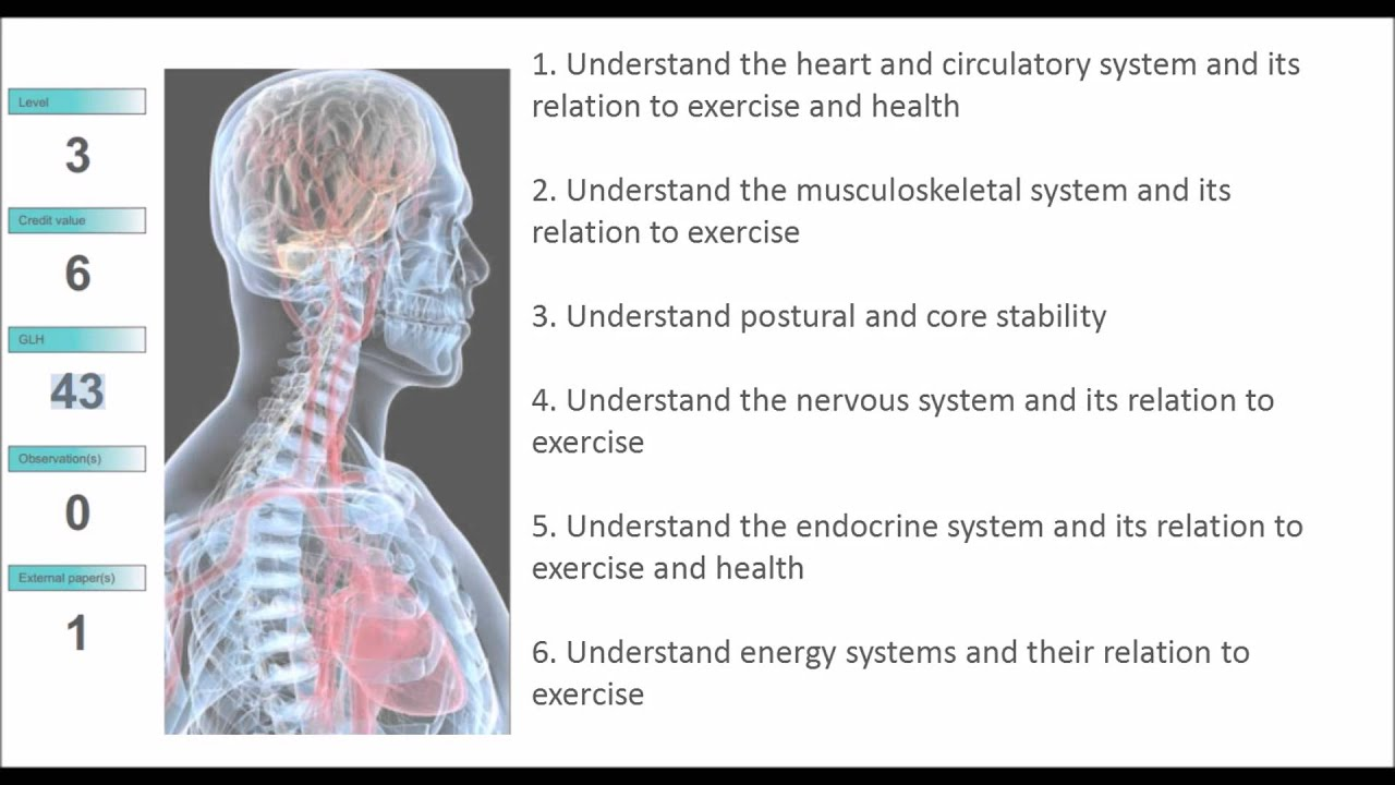 Exercise Referral Anatomy and Physiology - YouTube