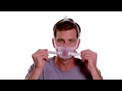 Respironics DreamWear Full Face Mask Fitting