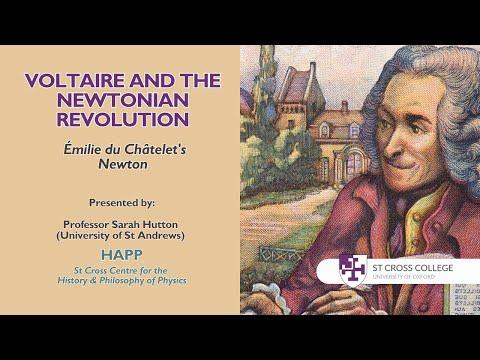 Voltaire and the Newtonian Revolution, HAPP Centre - Professor Sarah Hutton