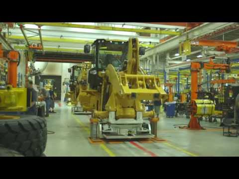 Built In Quality: Cat® Small Wheel Loaders Manufactured In Clayton, NC