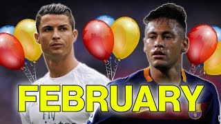 Which Football Star Do You Share A Birthday With? | February