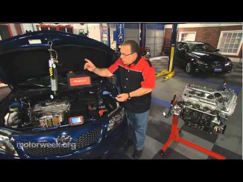 Pat Goss endorses the BG fuel service on MotorWeek