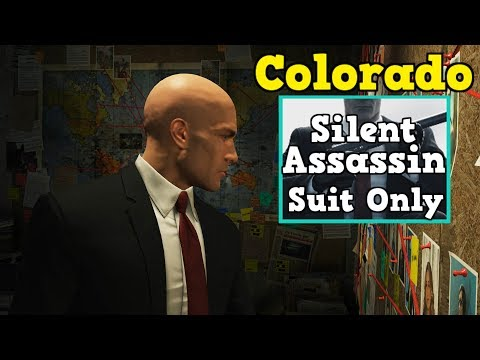 HITMAN Colorado Silent Assassin,Suit Only - Distraction Easy Tricks