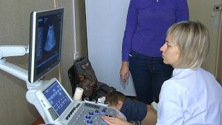 В детской поликлинике появился новый аппарат УЗИ(Городская детская поликлиника обновила оборудование. Теперь здесь есть два высокотехнологичных аппарата..., 2017-02-06T07:09:57.000Z)