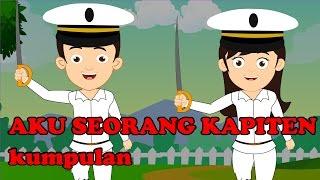 Aku Seorang Kapiten | Kumpulan | Medley 30 minutes | Lagu Anak TV