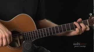 Week 3 New Chords G Aug, F# Dim, and G/C - Learn Intermediate Acoustic Guitar Lesson