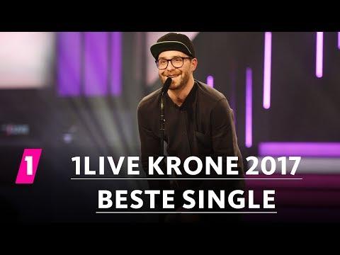 'Sowieso' von Mark Forster ist die 'Beste Single' | 1LIVE Krone 2017