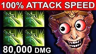 BUTTERFLY MONKEY KING - DOTA 2 PATCH 7.07 NEW META PRO GAMEPLAY thumbnail
