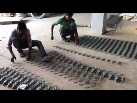 Chain link Jali manufacturing