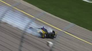 Marco Andretti Incident At Iowa Speedway