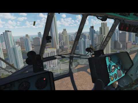 DCS Persian Gulf, Mi8 à Dubaï