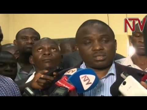 Erias Lukwago talks to media after retaining Kampala Lord Mayor seat with landslide