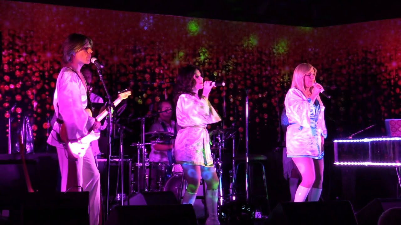Abba Band Abba Fab Playing Dancing Queen And Waterloo Abba Tribute