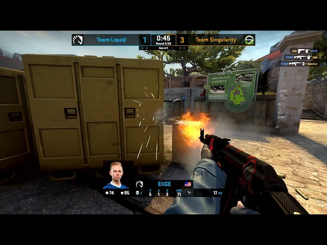 LIVE: CS:GO - Team Liquid vs. Team Singularity [Dust2] - Group C - ESL NA Pro League Season 10