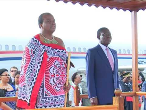 His Majesty King Mswati III at Equatorial Guinea, MALABO