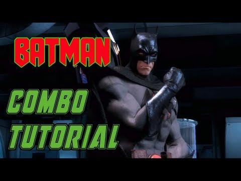 Batman - Combo tutorial -  Injustice: Gods Among Us //  ( 32% de daño)