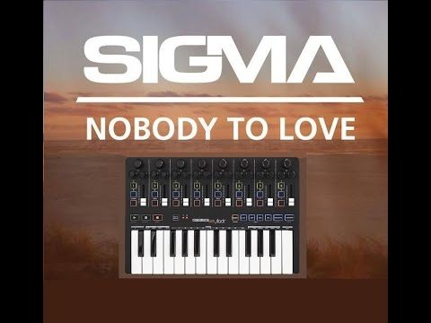 Sigma - Nobody To Love (Piano Cover & Ableton Project)