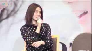 北川景子が12月28日にセルリアンタワー東急ホテルでファン感謝祭イベン...