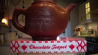 Tea Time with Chocolate Teapot
