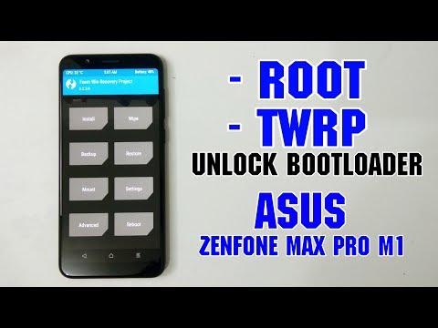 Cara Root Dan Pasang TWRP Asus Zenfone Max Pro M1