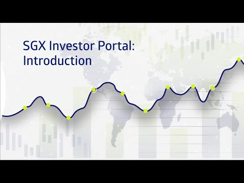 SGX Investor Portal: Introduction