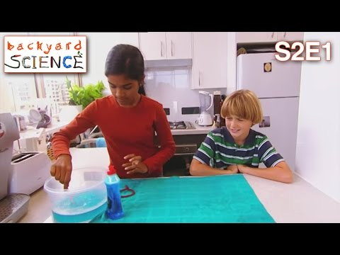 Backyard Science | S2E1 | Create a whirlwind in a bottle