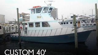 [UNAVAILABLE] Used 1993 Custom 40 Sea Harvester in Orange Beach, Alabama