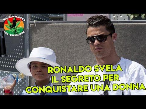 Ronaldo spiega al figlio il segreto per conquistare una donna   #doppiaggicoatti  