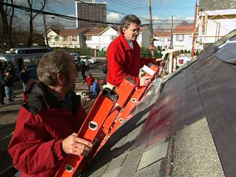 How to Install Roof Shingles - Habitat for Humanity - Bob Vila eps.1905