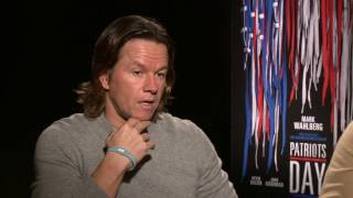 Mark Wahlberg And Peter Berg On Patriots Day