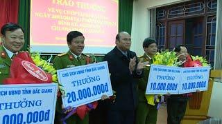Tặng thưởng cho Ban Chuyên án bắt giữ đối tượng cướp ngân hàng