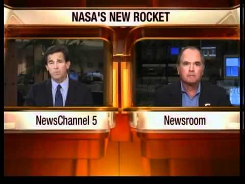 Astronaut interviewed