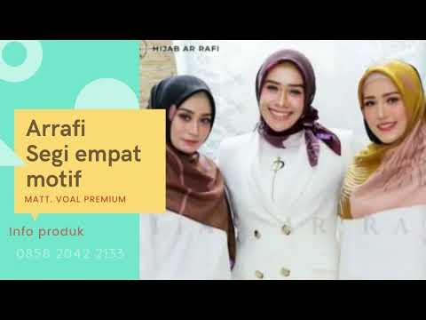 Hijab Arrafi Terbaru 2020 Segi Empat Hijab Arrafi Segi Empat Terbaru Wa 0858 2042 2133 Youtube