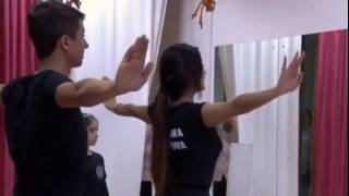Обучение азербайджанских танцев в Москве .Кенан Гачайзаде