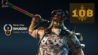 SHUGOKI 108 GEAR SCORE MASSACRE (For Honor)