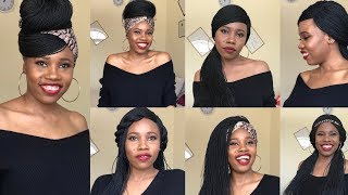 How To Style A Braided Wig